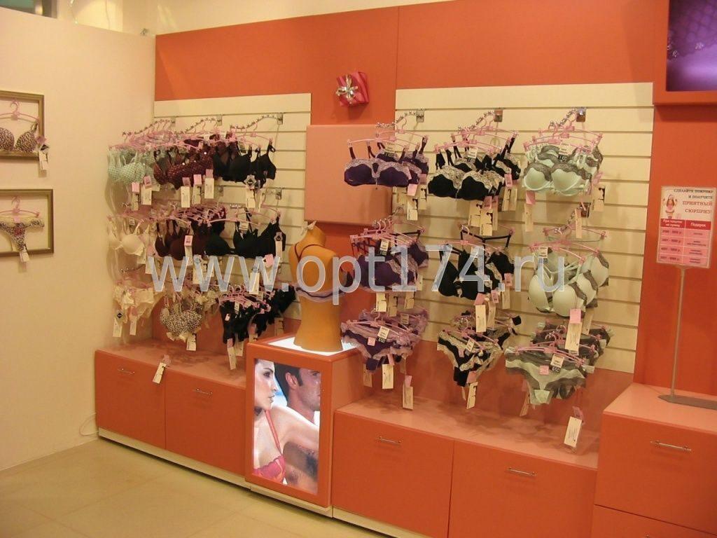 Оформление магазина нижнего белья №4.